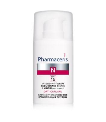Intensywny krem redukujący cienie i worki pod oczami; Pharmaceris N