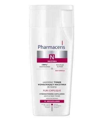 Łagodny tonik wzmacniający naczynka do twarzy; Pharmaceris N