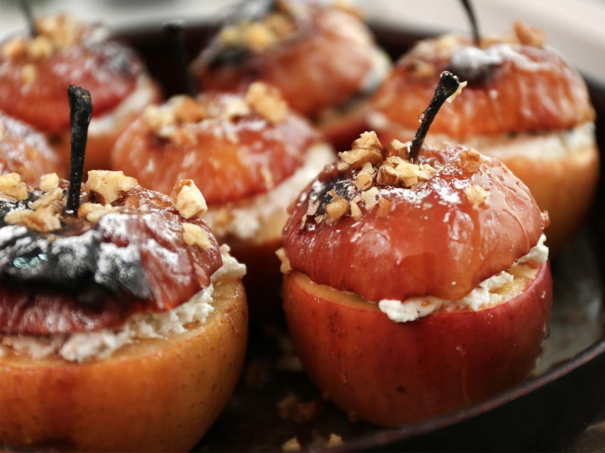 przepis na pieczone jabłka