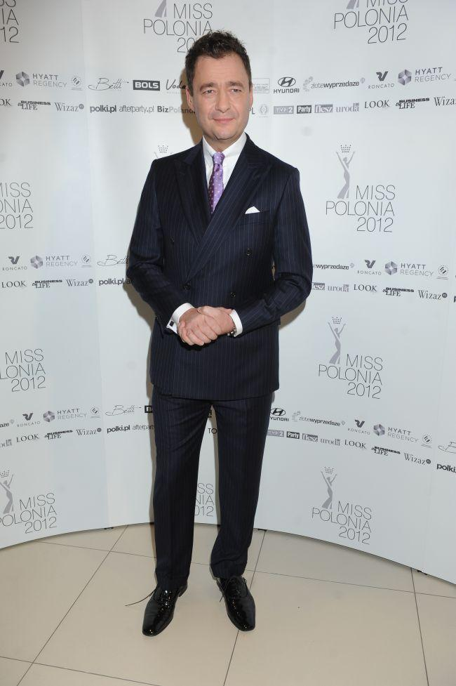 Piękne i eleganckie gwiazdy na gali Miss Polonia 2012