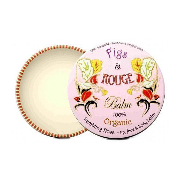Organiczny różany balsam do ust Figs & Rouge, cena