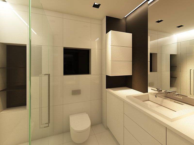Nowoczesna Aranżacja łazienki 6 Pomysłów Aranżacje