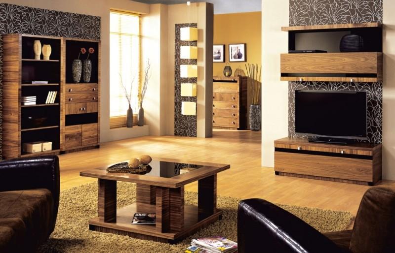 Piękny salon z meblami Krysiak - Zdjęcie 17