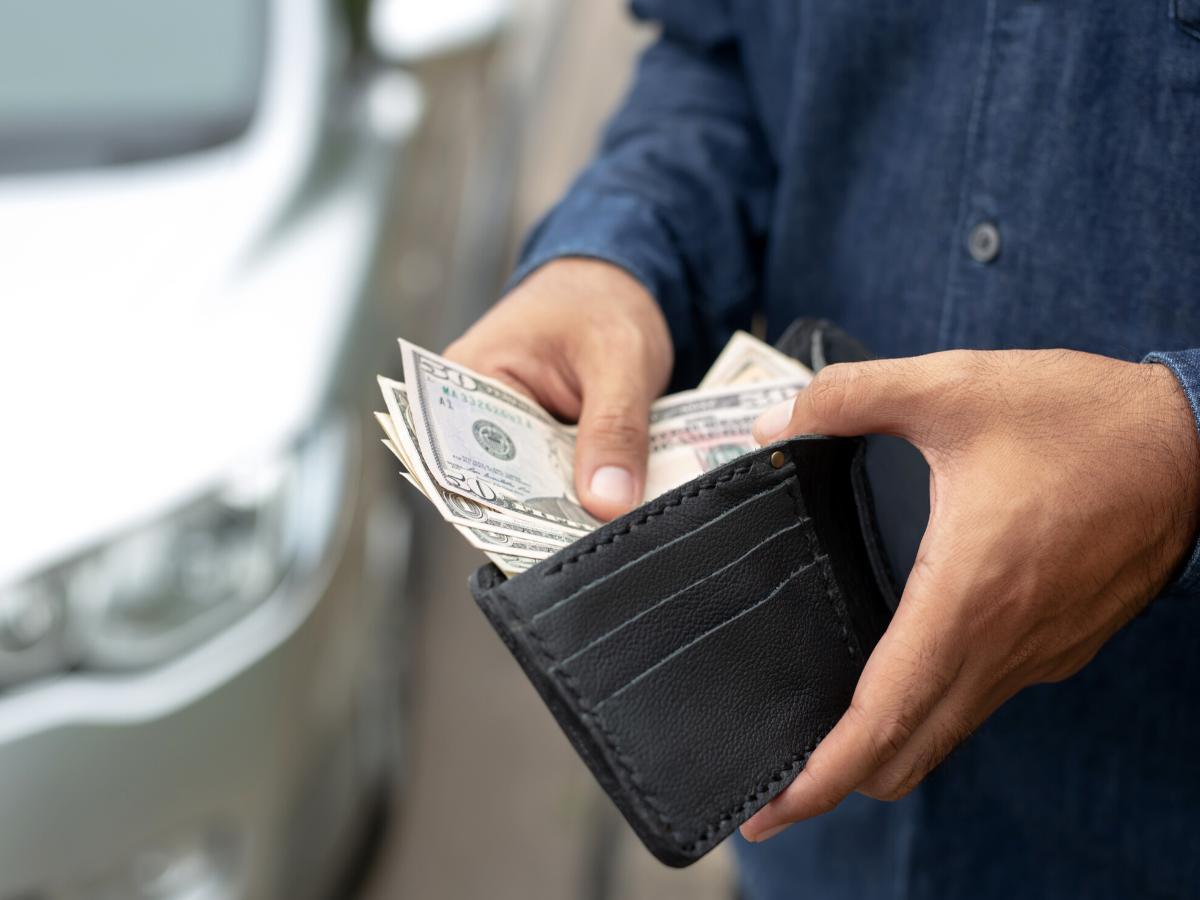 sen pieniądze portfel