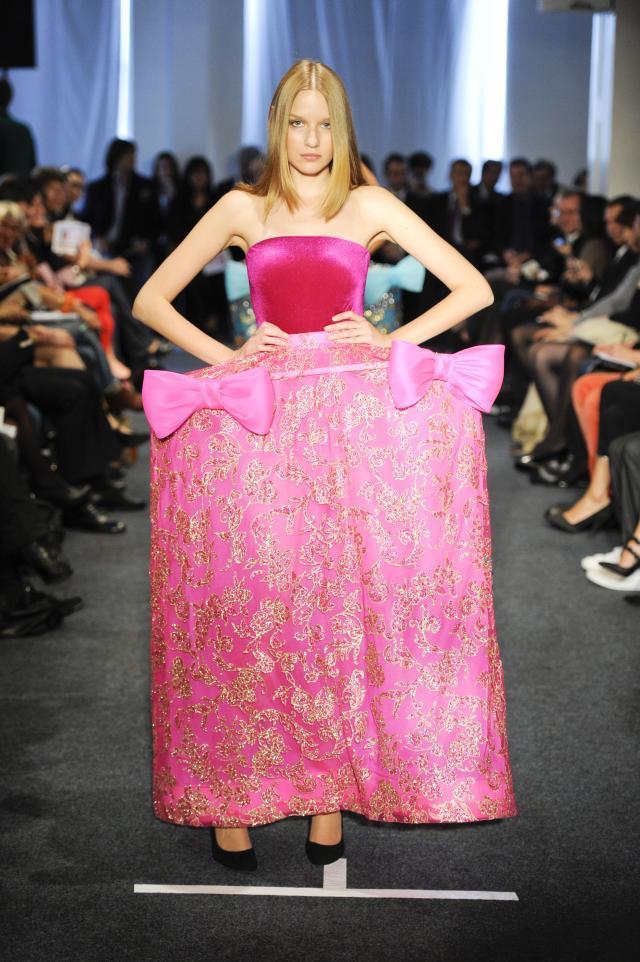 Pierre Cardin, kolekcje wiosna/lato 2011, pokaz mody wiosna/lato 2011