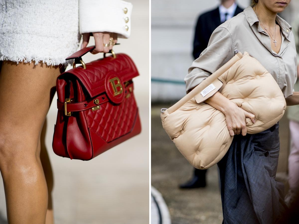 pikowane torebki