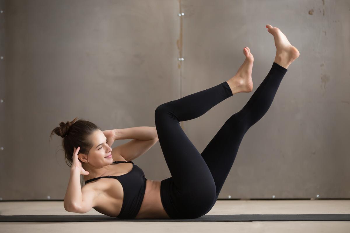 Pilates na gruby brzuch