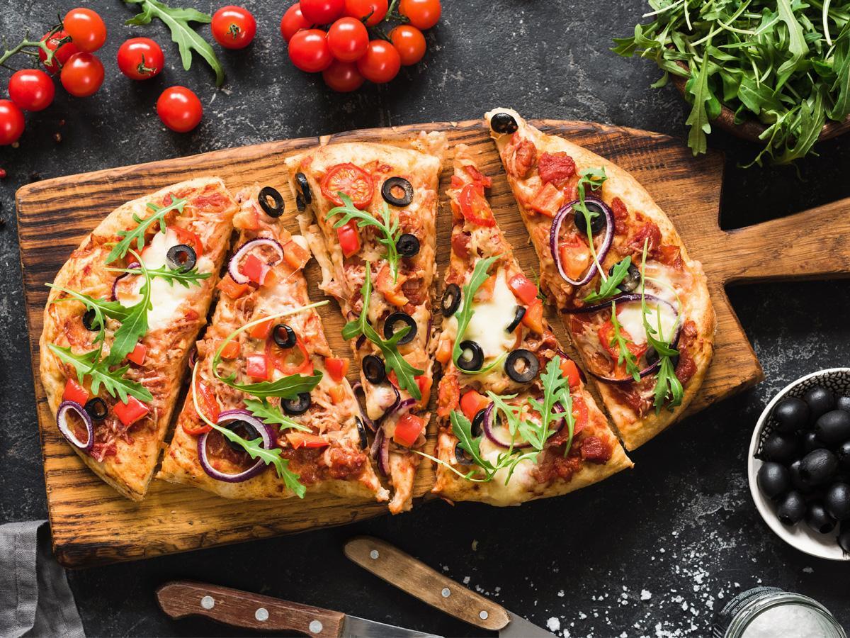 pizza dietetyczna przepis