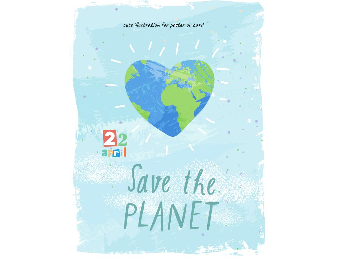 Dzień Ziemi - hasła i plakat