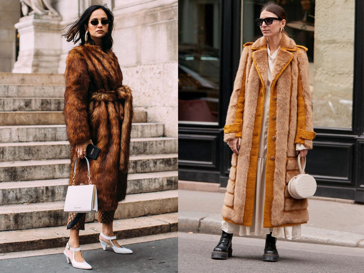 Futro jesień-zima 2019/2020 - modne płaszcze