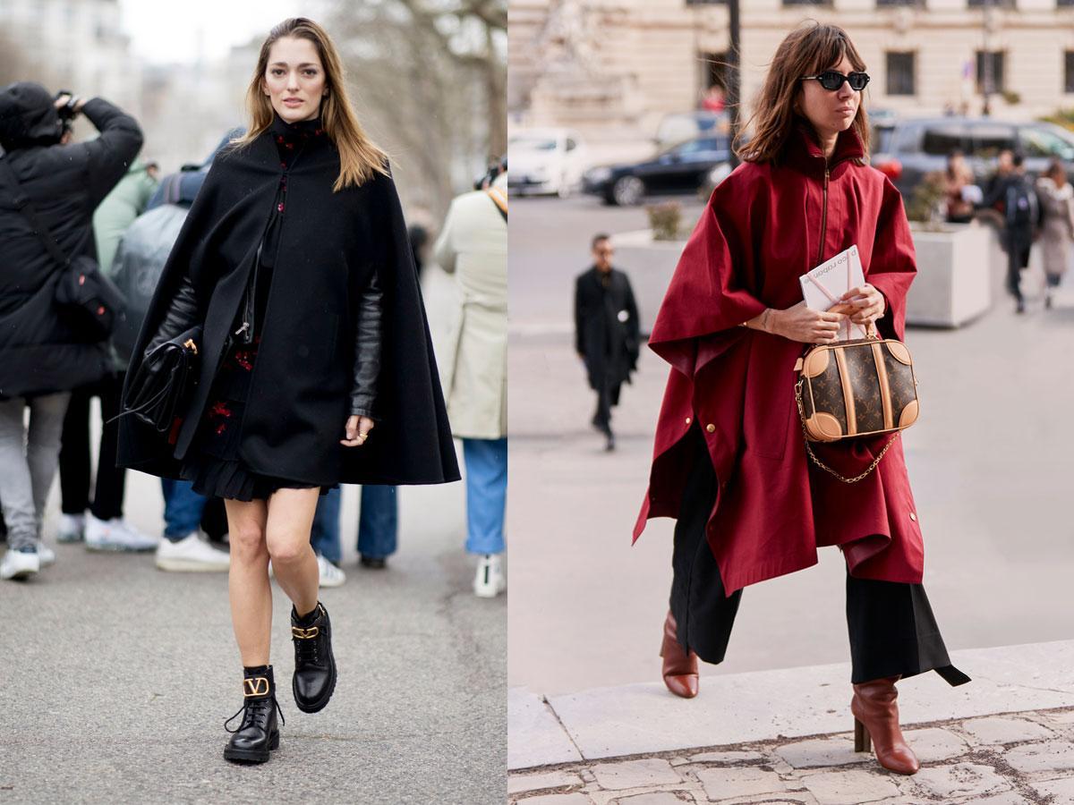 Peleryna jesień-zima 2019/2020 - modne płaszcze