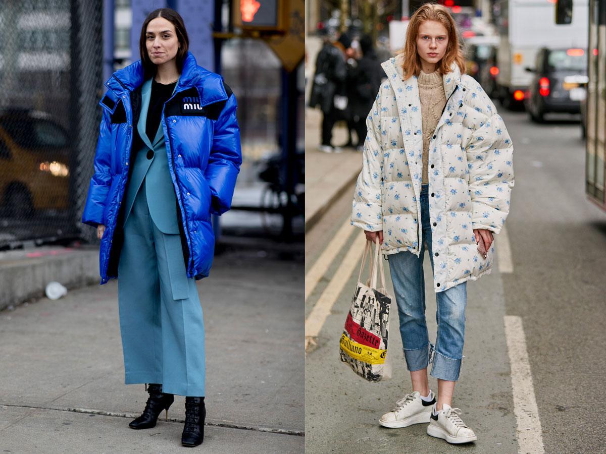 Puchówka XXL jesień-zima 2019/2020 - modne płaszcze