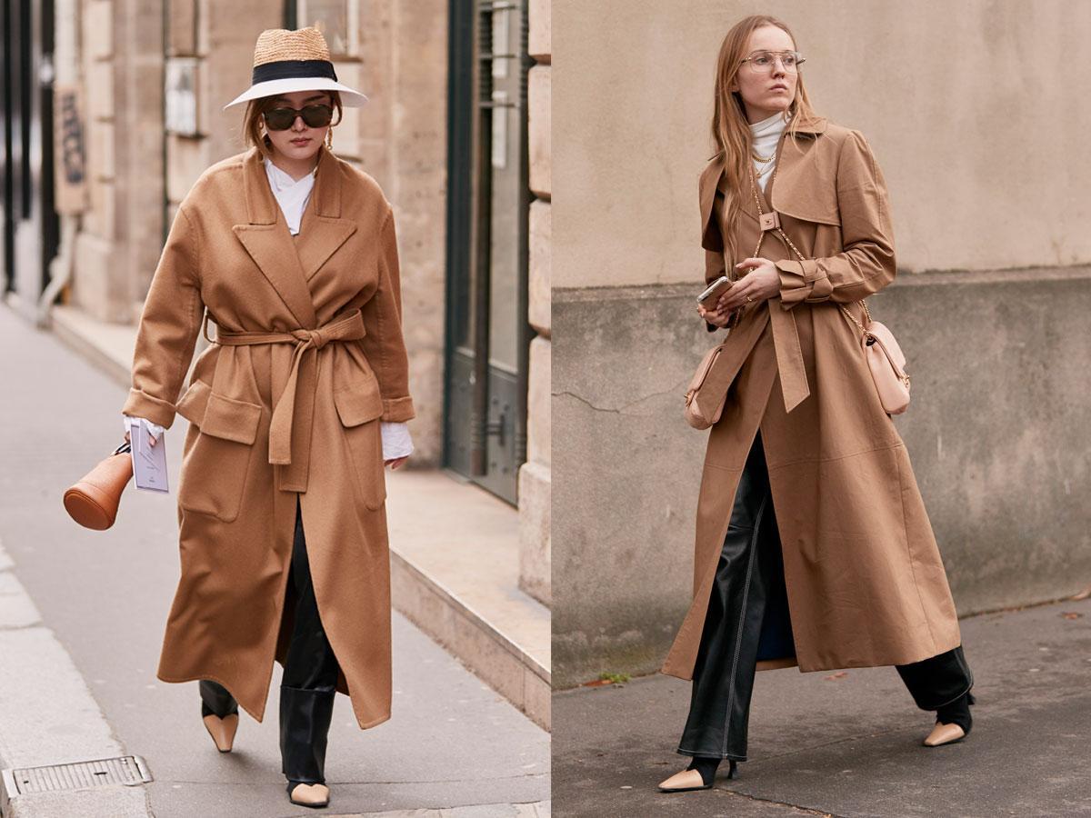 Zimowy trencz 2019/2020 - modne płaszcze