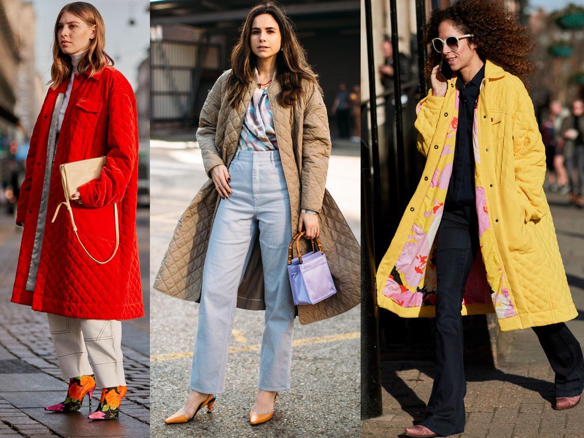 Płaszcze pikowane damskie