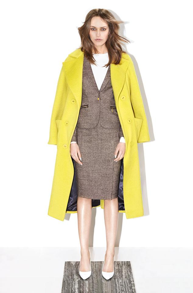 Płaszcz w kolorze limonki - nasz typ!