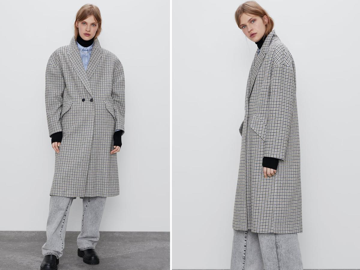 Płaszcz oversize Zara