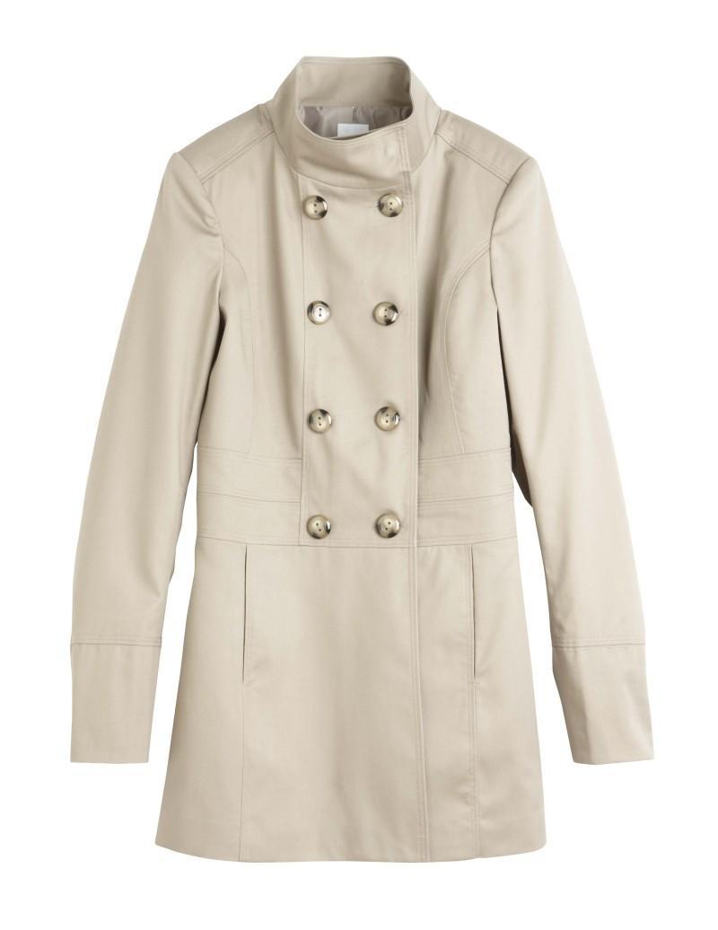 biały płaszczyk Camaieu - wiosenna kolekcja