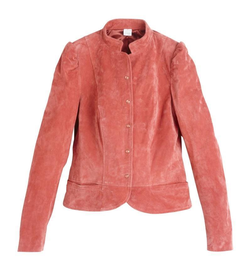 kurtka Camaieu z zamszu - wiosenna kolekcja