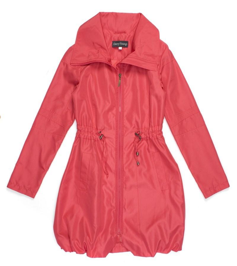 czerwony płaszczyk Carry - moda 2011