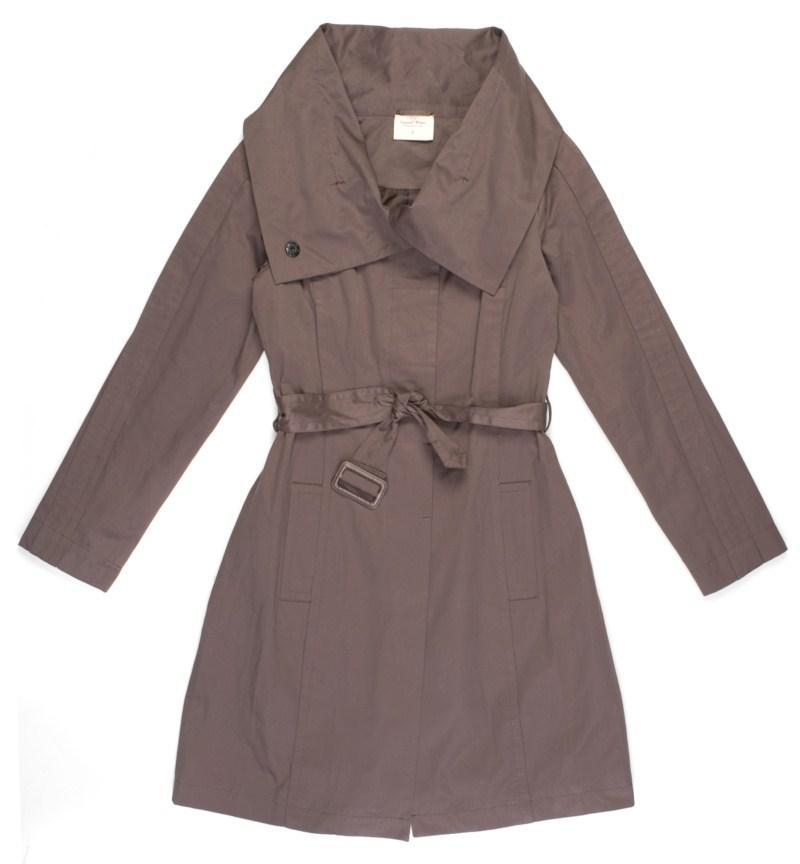 popielaty płaszczyk Carry - moda 2011