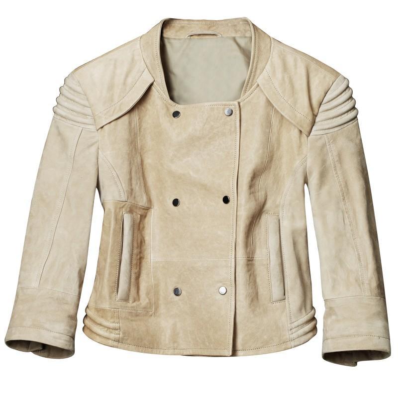 ecru kurtka H&M - kolekcja wiosenna