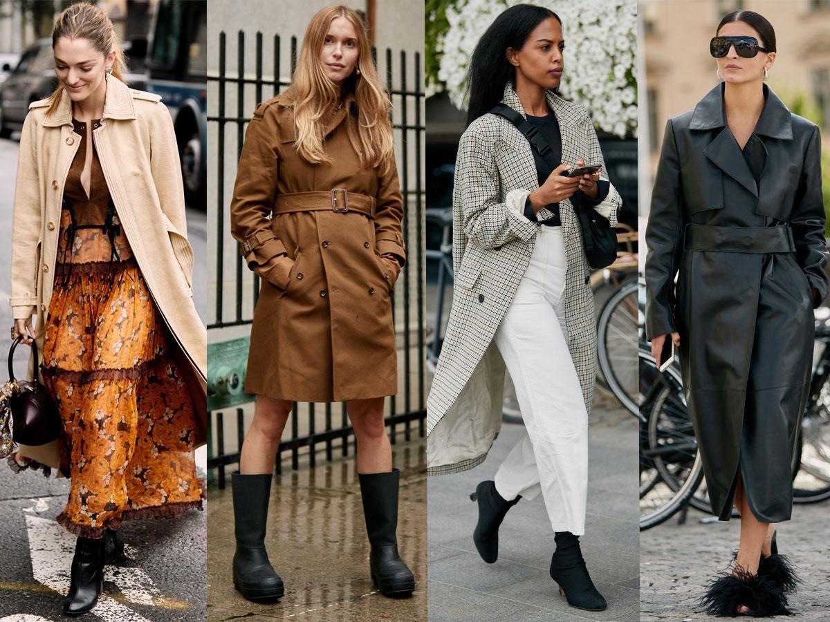 Płaszcze wiosenne - modne kolory i fasony