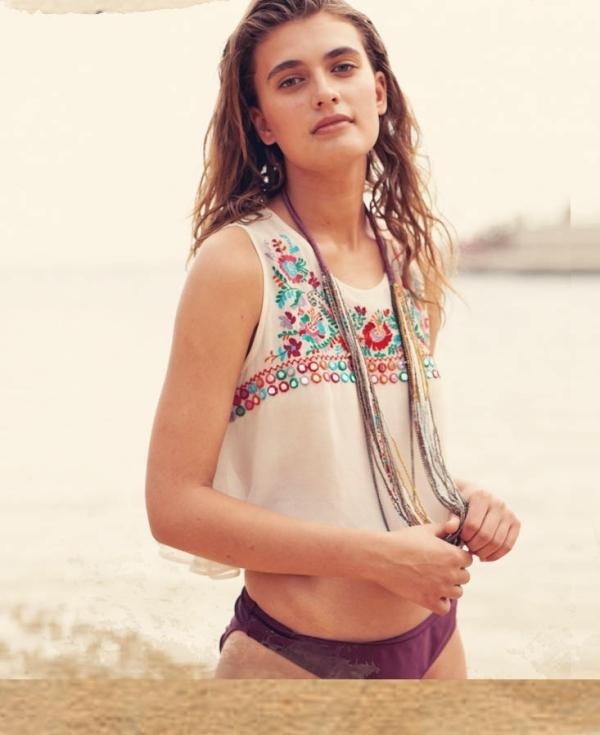 Plażowy look River Island 2013