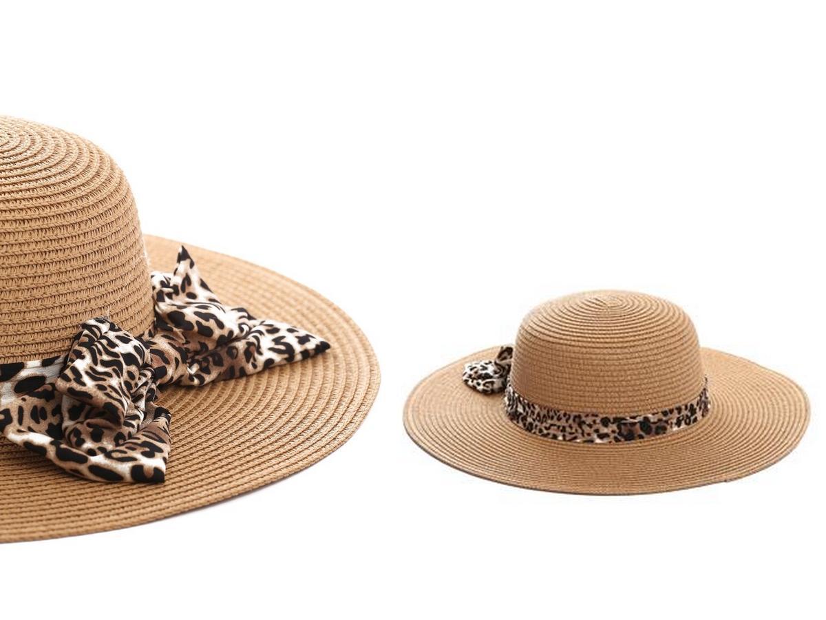 pleciony kapelusz w stylu Sochy