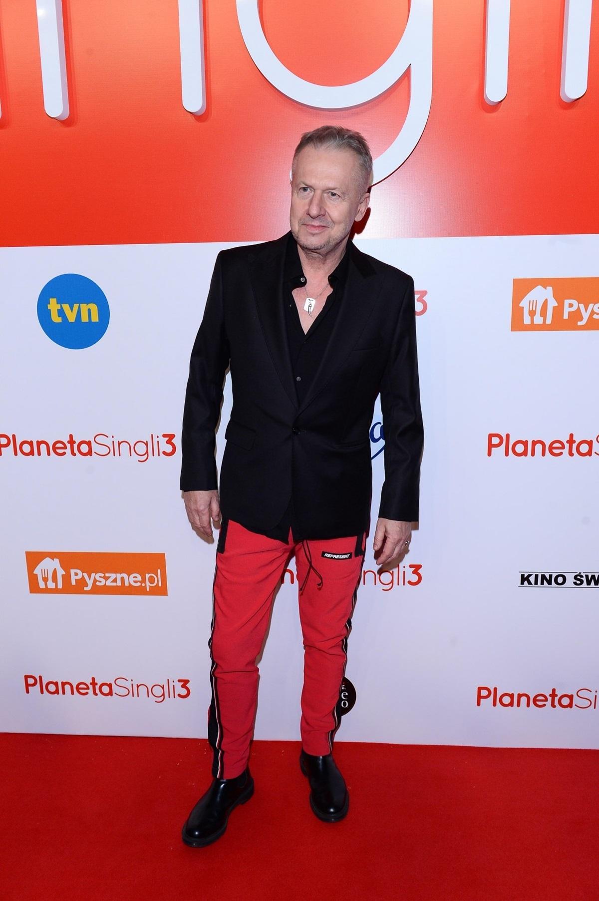 """Bogusław Linda na premierze filmu """"Planeta singli 3"""""""