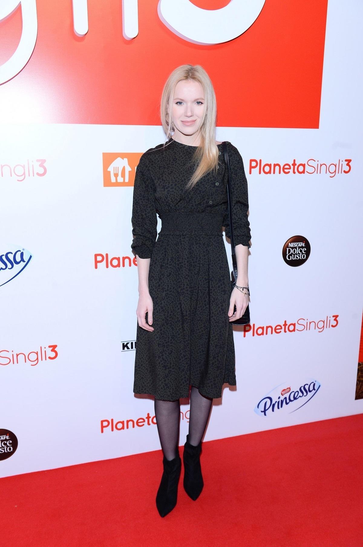 "Joanna Majstrak na premierze filmu ""Planeta singli 3"""