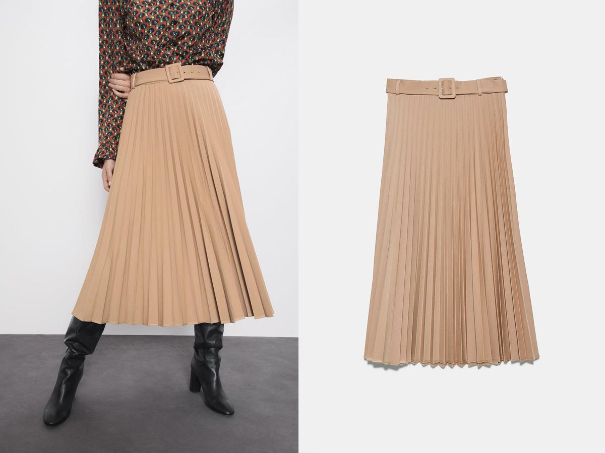 Spódnica plisowana Zara,