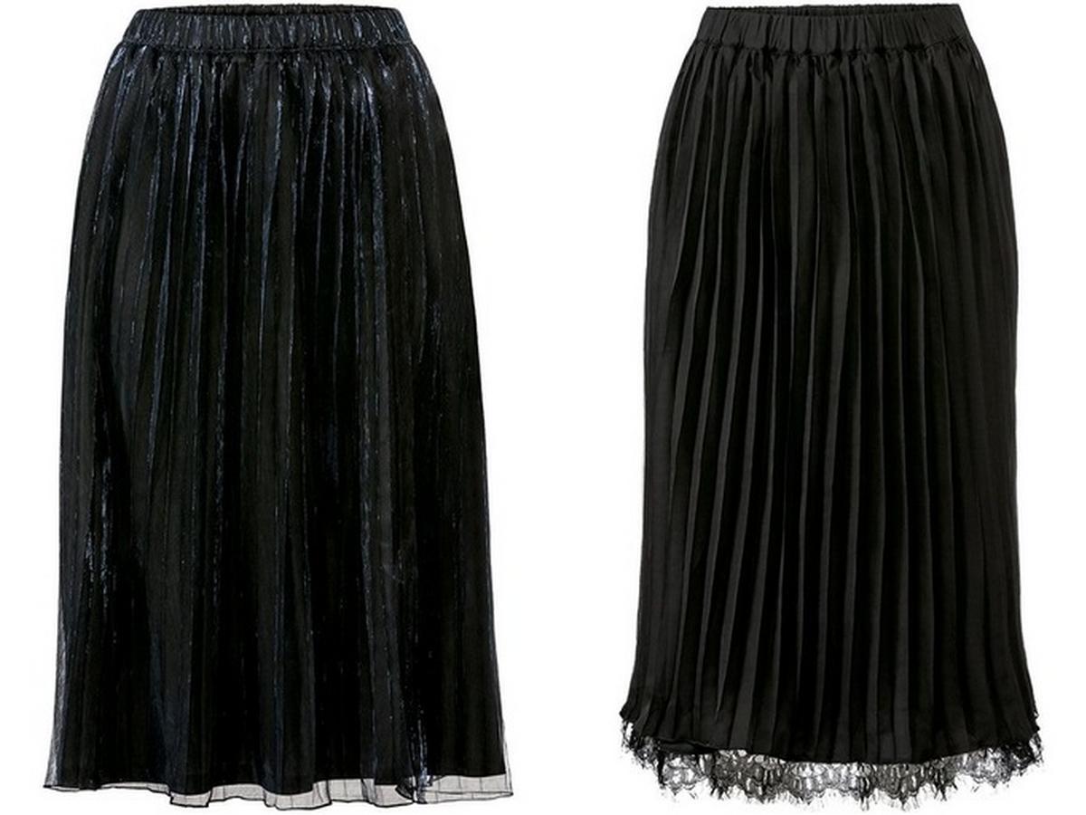 plisowane spódnice Lidl