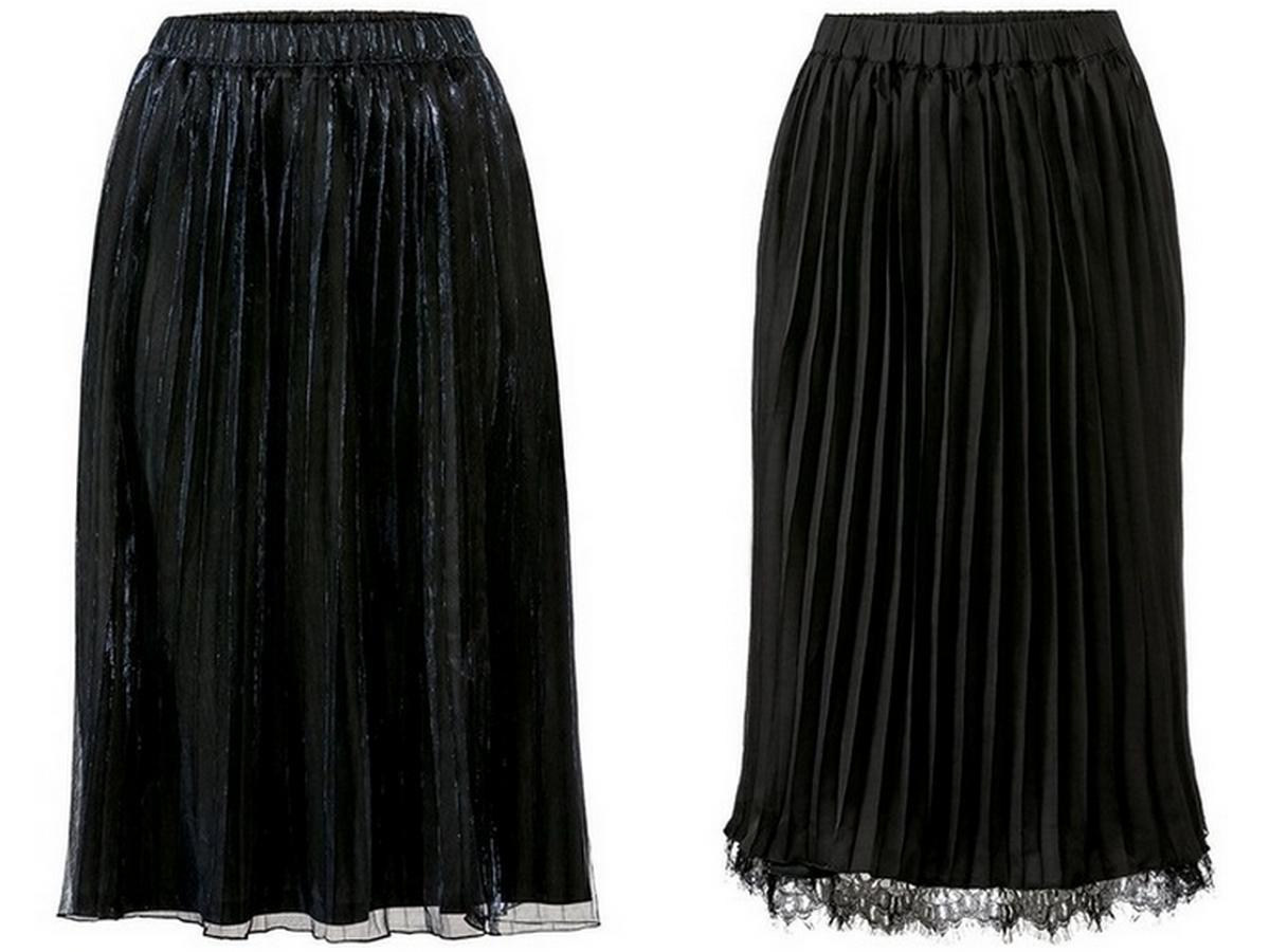 plisowane spódnice z Lidla