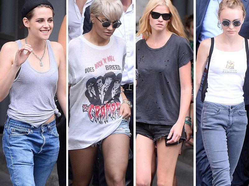 Ubrania W Stylu Gwiazd Pokaz Chanel Hauet Couture Trendy