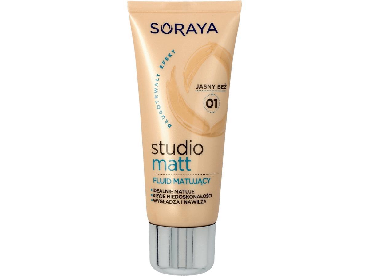 podkład do twarzy Soraya Studio Matt