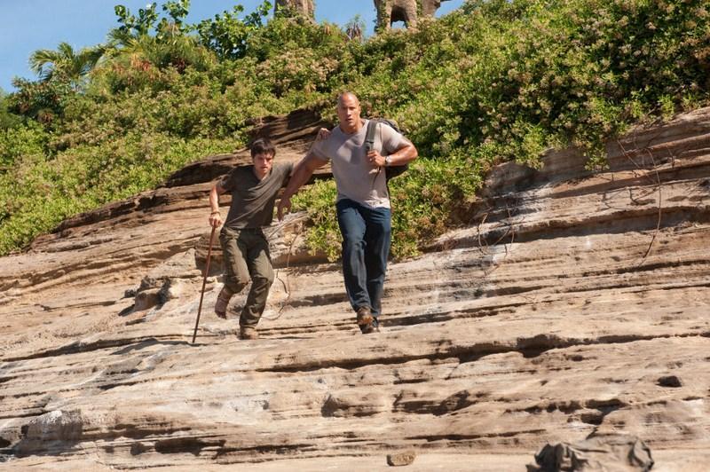 Josh Hutcherson, Dwayne Johnson - Podróż na Tajemniczą Wyspę
