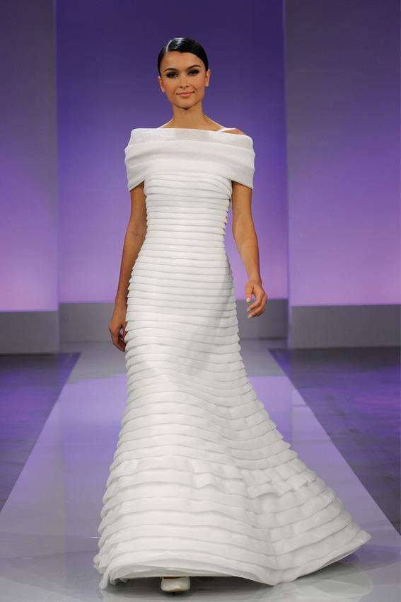 Cymbeline 2013 - pokaz kolekcji sukni ślubnych, Gael