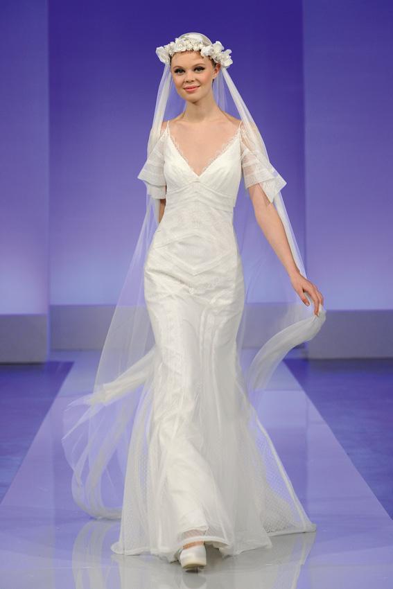 Cymbeline 2013 - pokaz kolekcji sukni ślubnych, Ginette