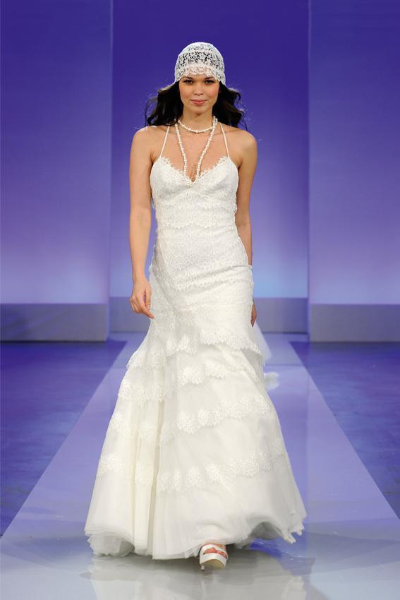 Cymbeline 2013 - pokaz kolekcji sukni ślubnych, les, Ganache