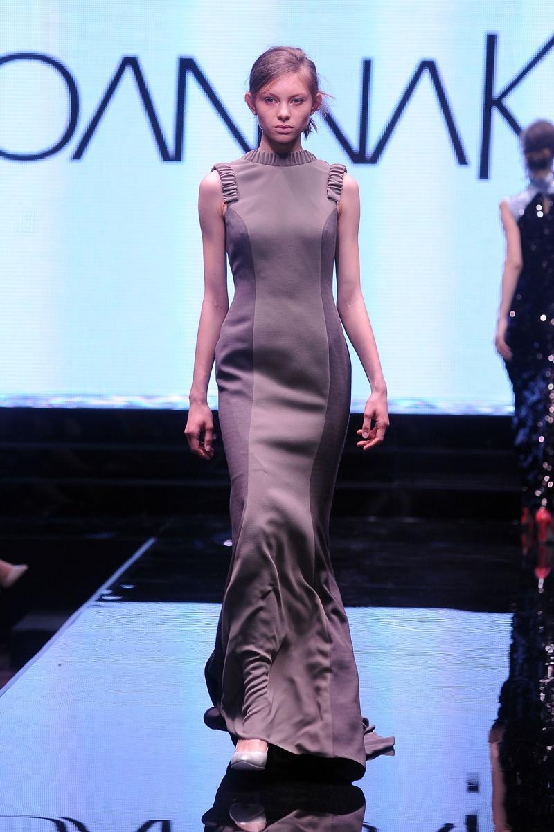 długa sukienka wieczorowa Joanna Klimas - moda dla kobiet