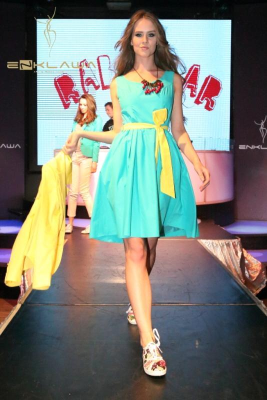 Pokaz kolekcji marki Rabarbar - lato 2012