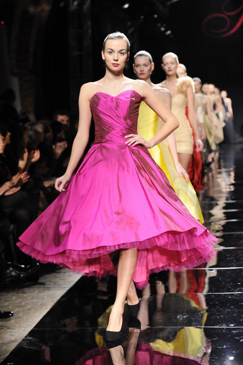 różowa sukienka Teresa Rosati