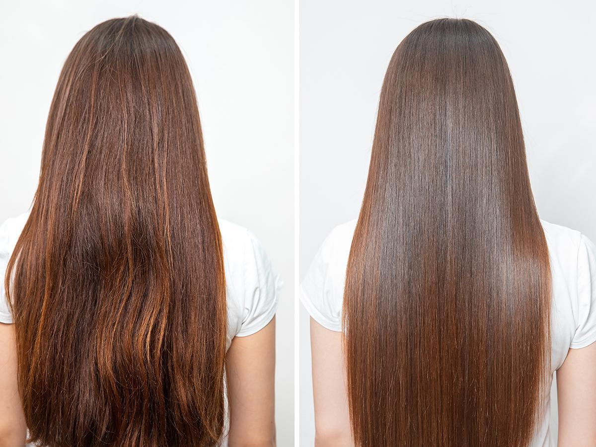 zabieg polerowania włosów cena