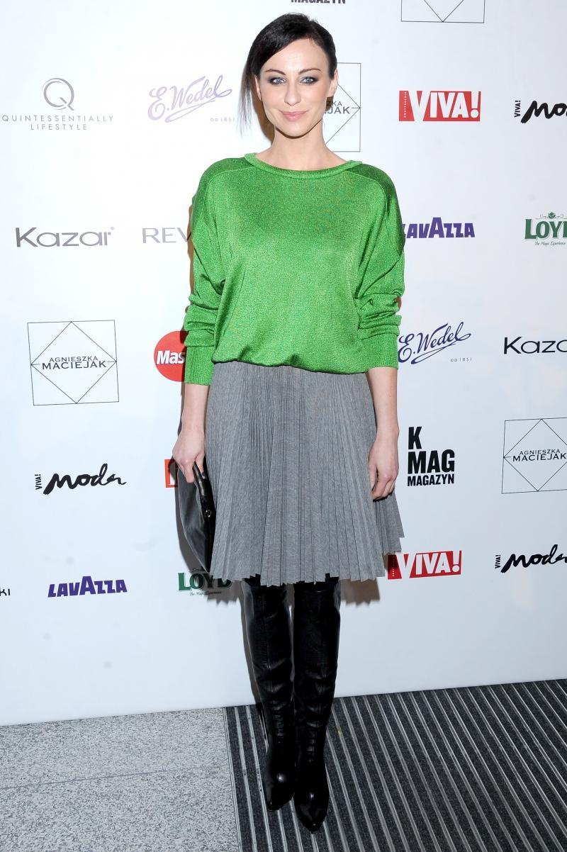 Najlepiej ubrane Polki 2013 roku - Maja Hirsch