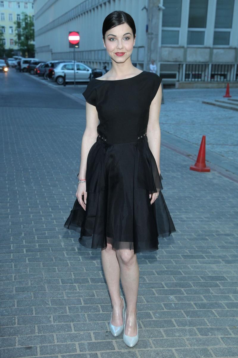czarna sukienka - Paulina Drażba