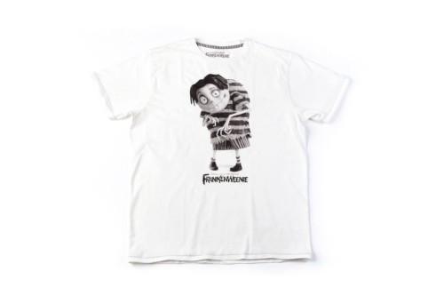 Postaci Tima Burtona na koszulach marki Springfield