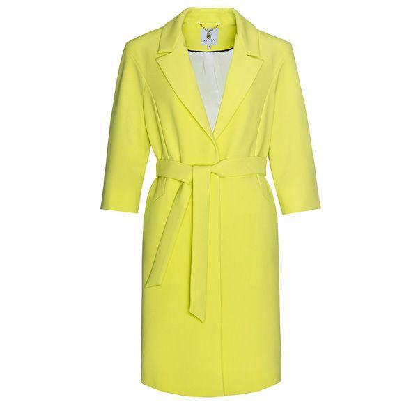 Żółty płaszcz Aryton, cena