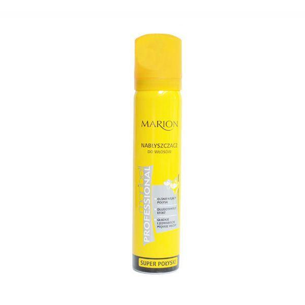 Spray nabłyszczający do włosów Marion, cena 12 zł