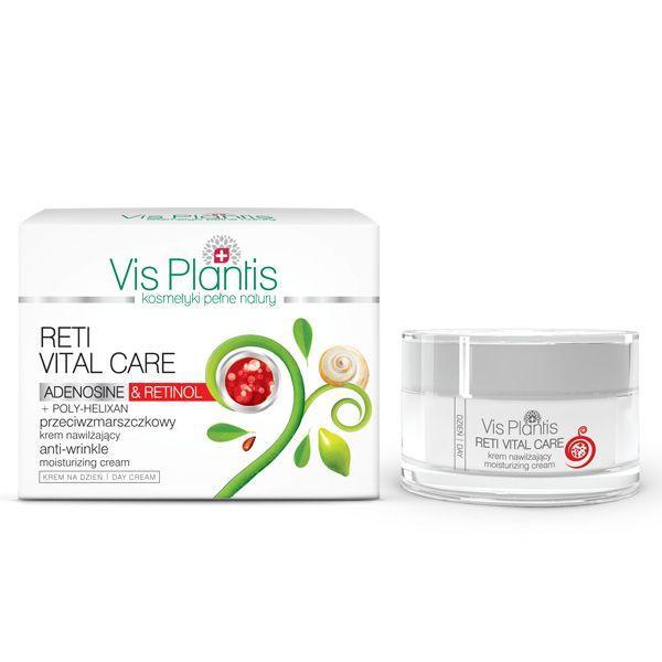 Krem nawilżający przeciwzmarszczkowy z retinolem Vis Plantis, cena 29,99 zł
