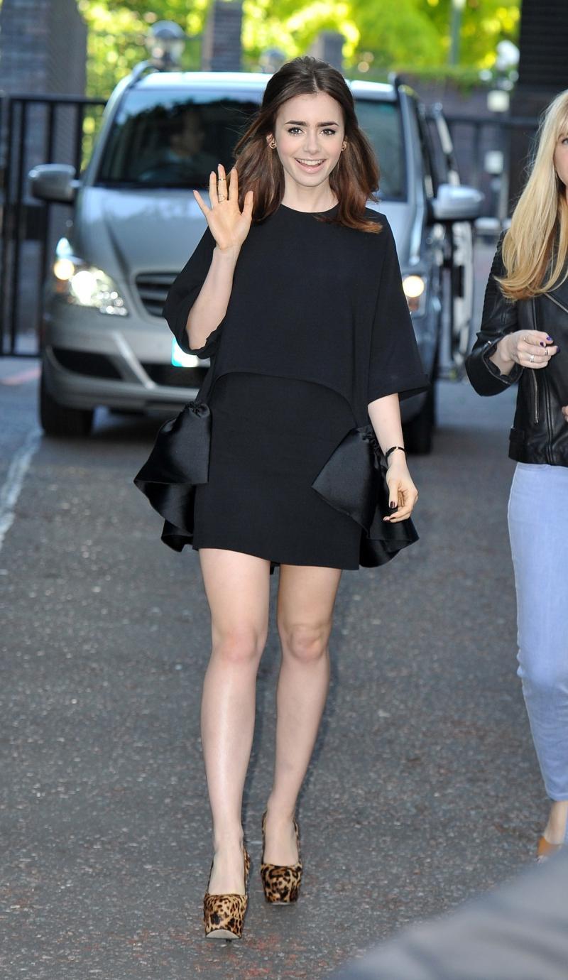 Najlepiej ubrane kobiety 2013 - Lily Collins